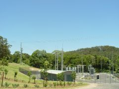 An Energex substation
